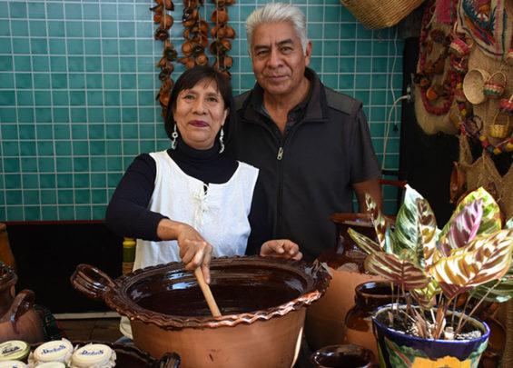 Marta Álvarez and Luis Alvarado of Mole Don Luis.