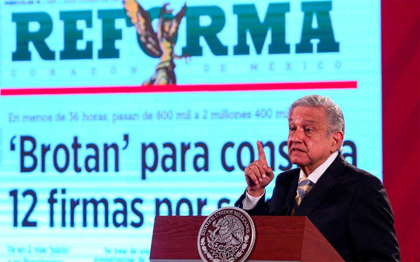 lopez obrador and reforma
