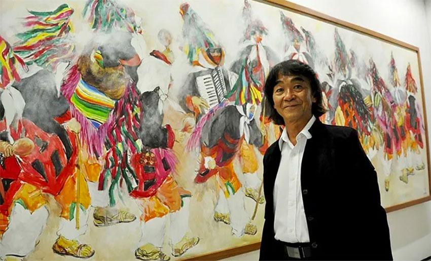 Akio Hanafuji in paris
