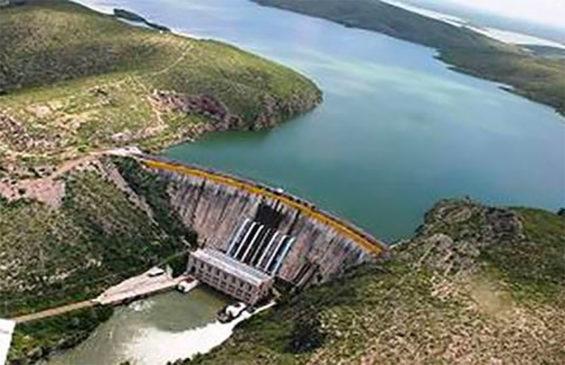 La Boquilla, where farmers have taken over the dam.