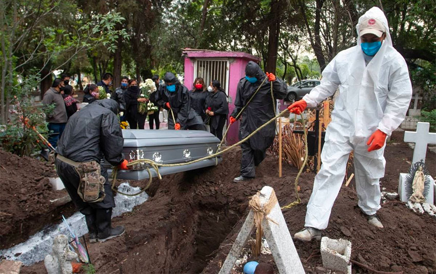 Coronavirus deaths in Mexico City were double the number reported.