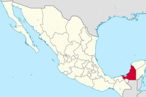 The little known state of Campeche.
