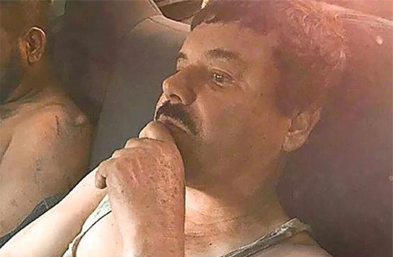 Guzmán after his arrest in 2016.