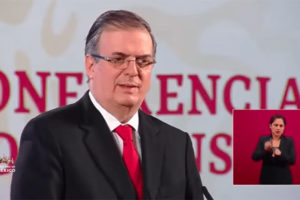 'This has to be cleared up,' declared Marcelo Ebrard on Tuesday.