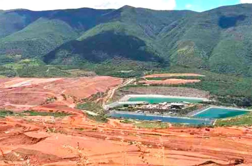 The Los Filos mine in Carrizalillo, Guerrero.
