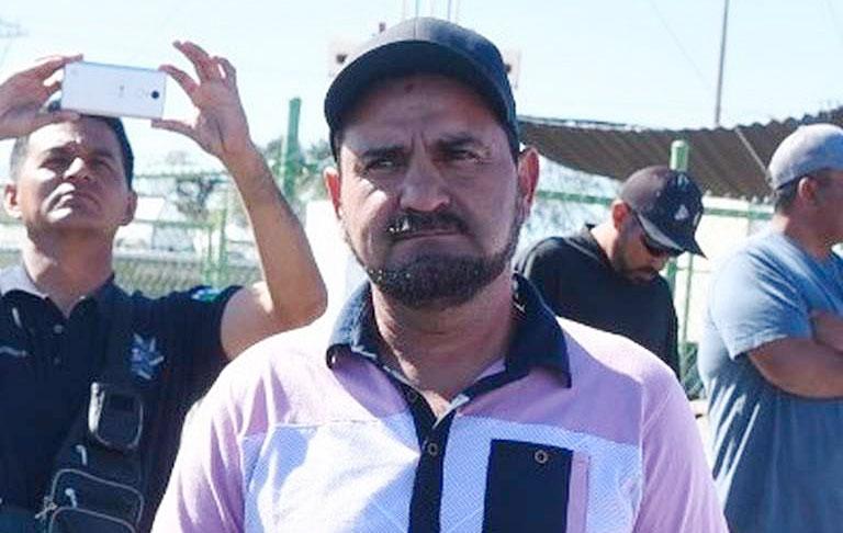 San Felipe fishermen's spokesman García