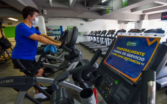 Gymnasiums are now allowed to reopen in the capital.