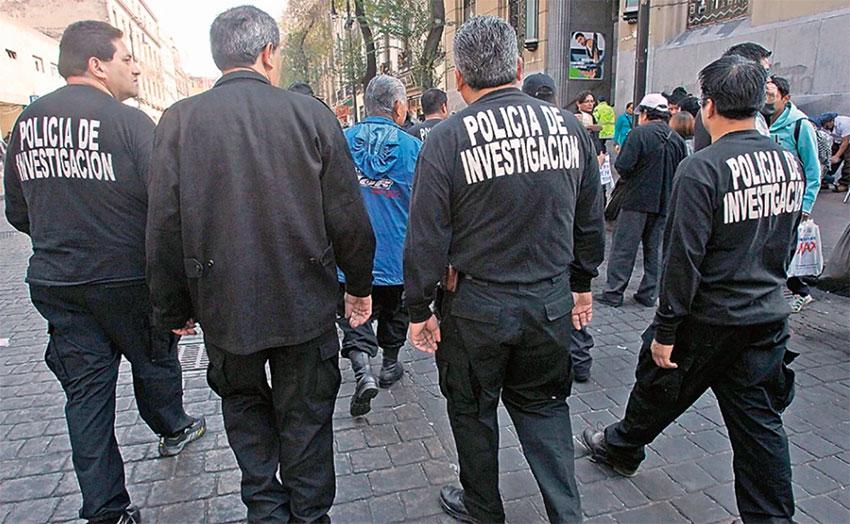 Mexico City's investigative police