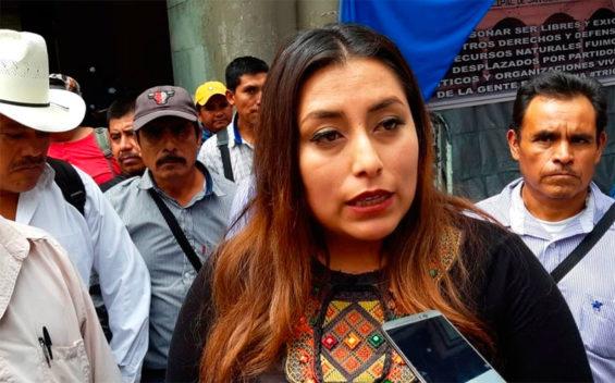 Tezoatlán Mayor Cisneros has been held in jail since Monday.
