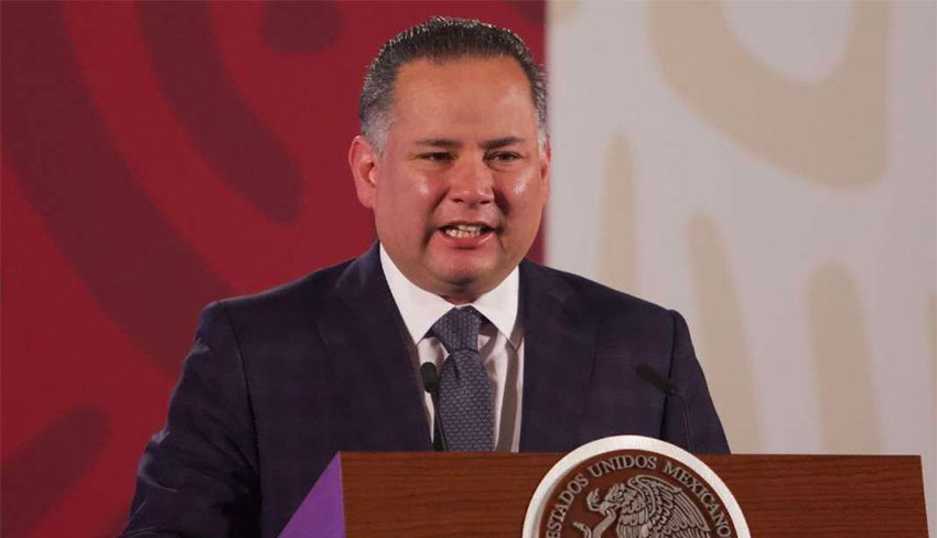 Santiago Nieto, head of the UIF.