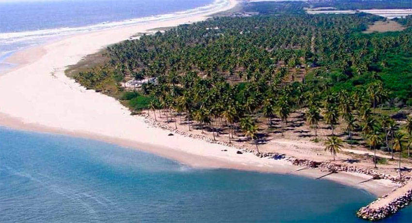 Playa Espíritu in Sinaloa.