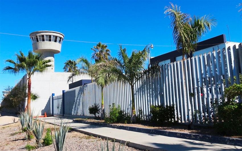 The La Paz penitentiary, where 21 inmates are recovering from Covid-19.