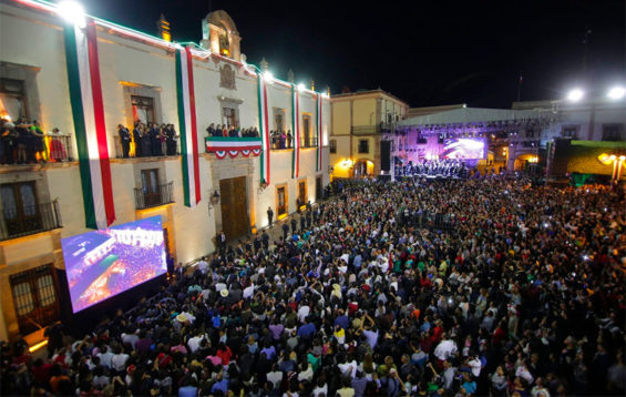 This is how independence celebrations normally look in Querétaro.
