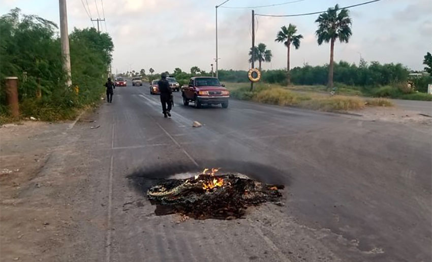 Reynosa Awakes To Narco Blockades As Cartel Reacts To Leader S Arrest