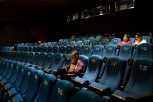 Theaters have been reopening but they're not drawing any crowds.