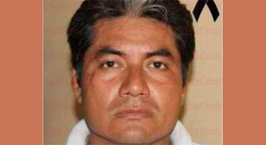 Córdoba crime reporter Julio Valdivia.