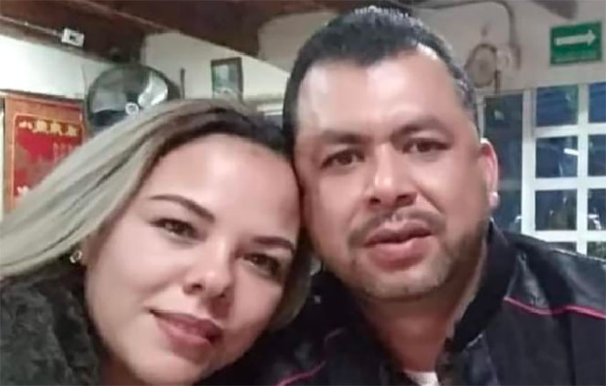 Yessica Silva and Jaime Torres were attacked following Tuesday's water protest in Chihuahua.