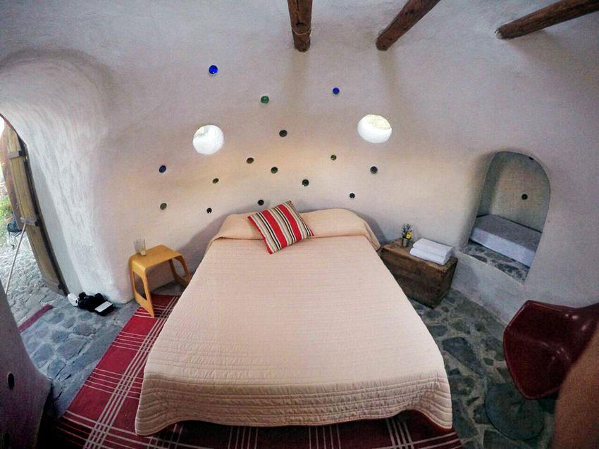 1 —- Cama en un iglú
