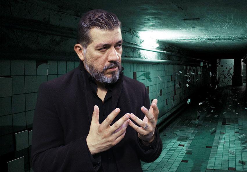 Paranormal investigator Antonio Zamudio.