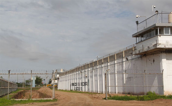 The Aguaruto penitentiary in Culiacán.