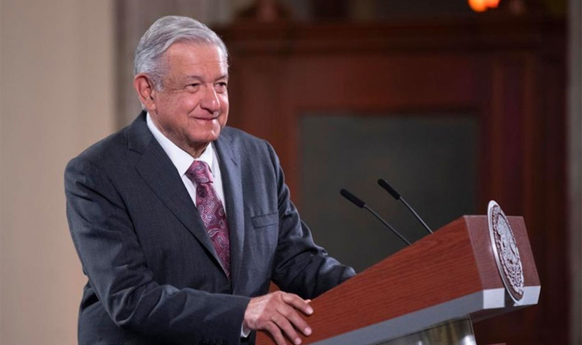 López Obrador: bailing out companies and taking on debt hasn't worked.