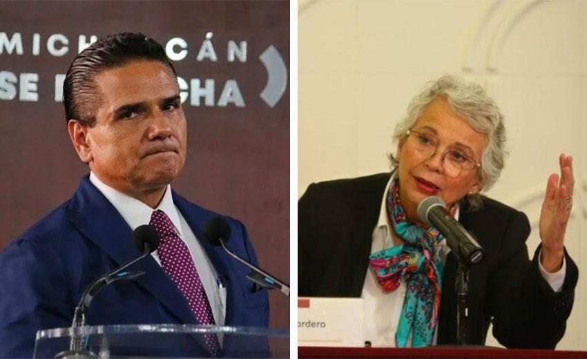 Sánchez accused Aureoles of 'constitutional crimes.'