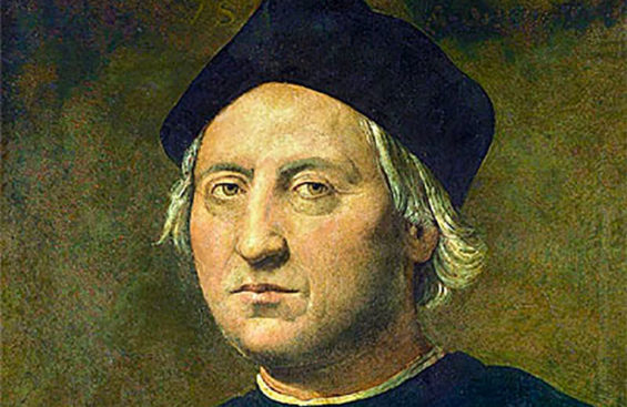 Christopher Columbus, explorer and villain.