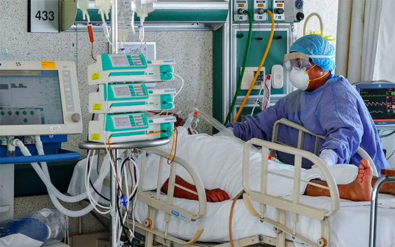 The percentage of intubated patients who die is much higher in Mexico than the US.