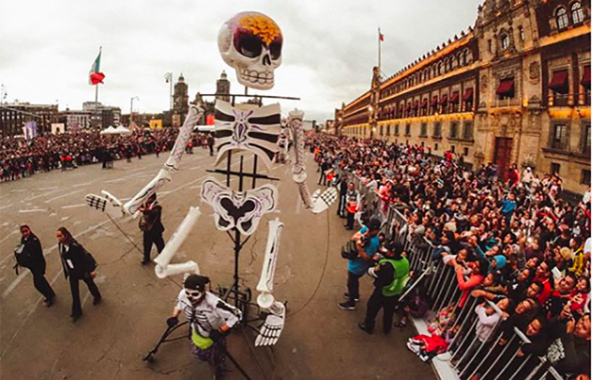There will be a parade in Mexico City this year but it won't be quite the same.