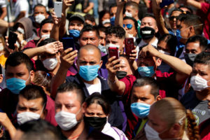 The effectivness of face masks is 'overstated,' says Mexico's coronavirus czar.