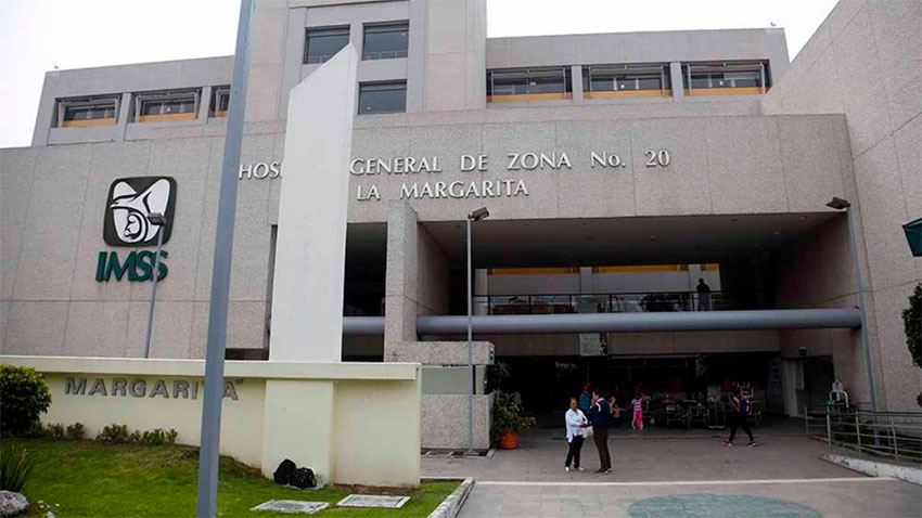 The Puebla hospital where a newborn was mistakenly pronounced dead.