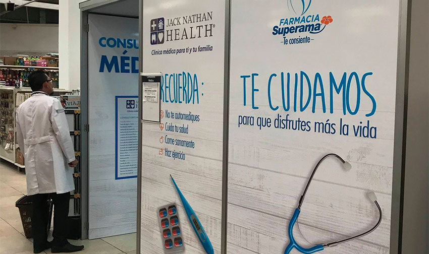 The company already has a presence in Mexico through clinics located in Superama stores.