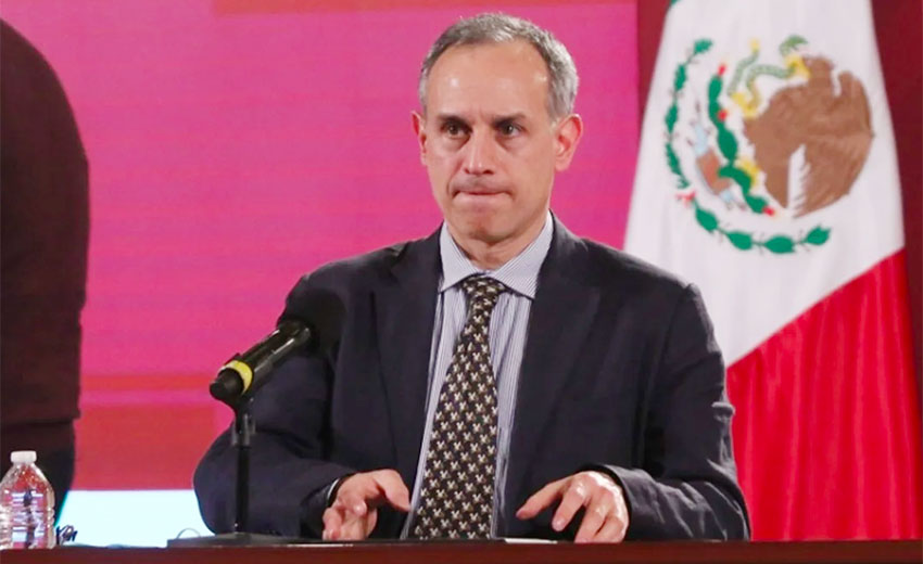 Increase in numbers most marked in Chihuahua: López-Gatell.