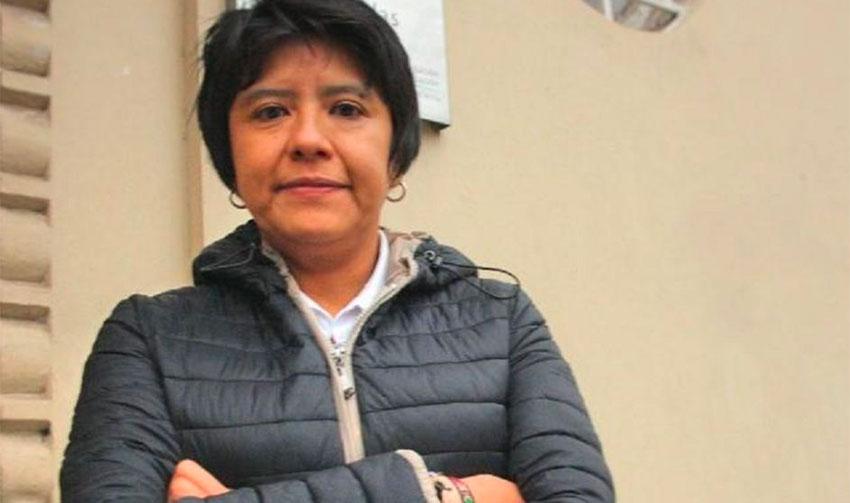 Alma Maldonado.