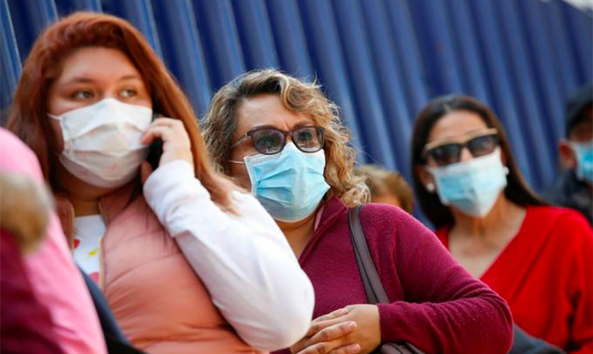 Authorities need to insist on the use of face masks, urges disease specialist.