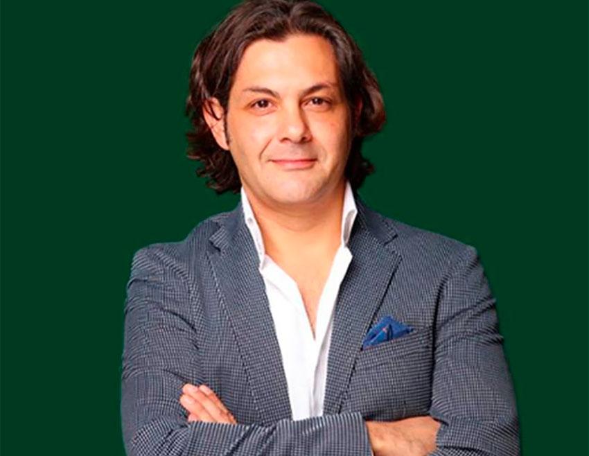 Marijuana legalization promoter Guillermo Nieto.
