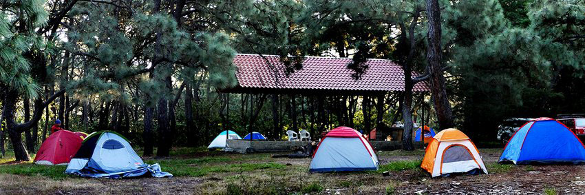 This campsite in Jalisco's Primavera Forest offers restrooms, water and police surveillance.