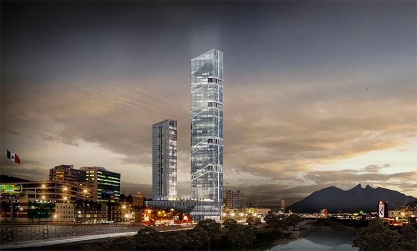 The Torre Rise will be built in Monterrey.