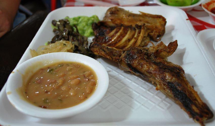Cabrito is grilled goat kid, popular in Monterrey. Courtesy of Alejandro Linares García