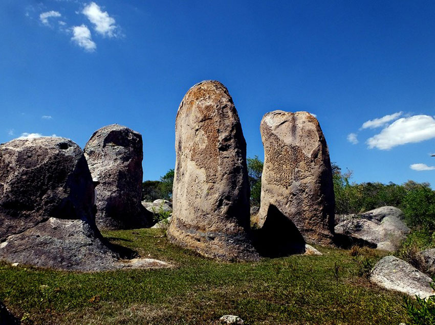 The monoliths of Las Águilas, near Cuautla, Jalisco