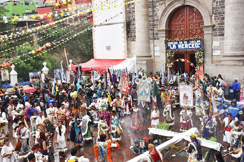 The Sanctuary at Chalma, México state, about 65 kilometers from Toluca, is Mexico's second-most visited pilgrimage site after the Guadalupe Basilica in Mexico City.