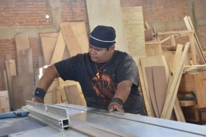 Veteran carpenter Francisco Castillo has seen Chipilo's economy transform.