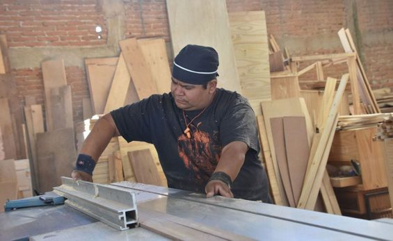 Veteran carpenter Francisco Castillo has seen Chipilo's economy transform.