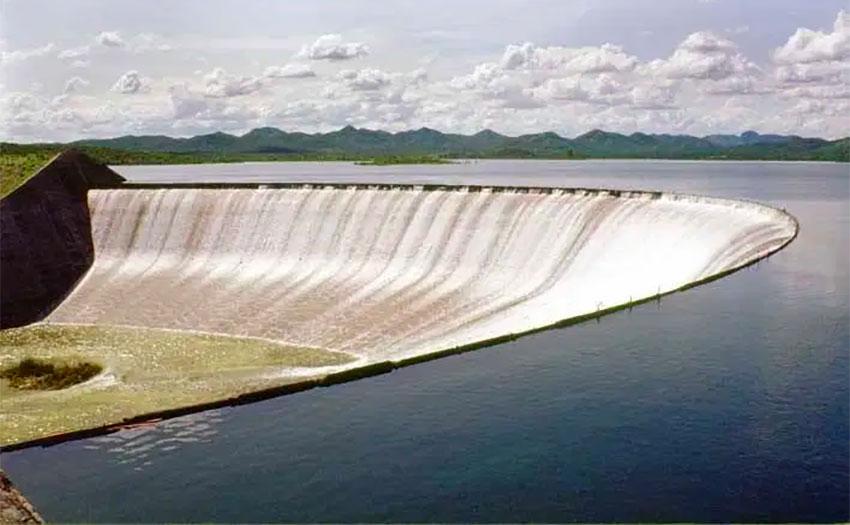 The Álvaro Obregon dam on the Yaqui River