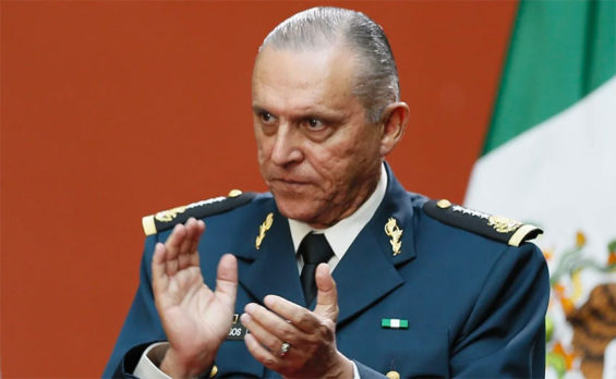 Former army chief Salvador Cienfuegos will return to Mexico.