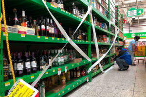 Alcohol sales will be banned in 8 boroughs this weekend.