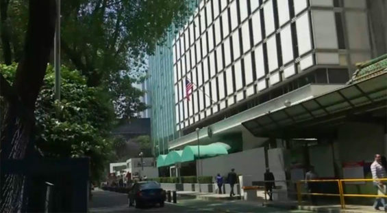 US Embassy in Mexico City.