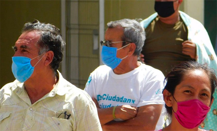 Not wearing a face mask in Nayarit is punishable with 36 hours in jail.