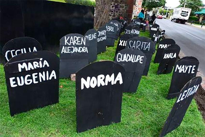 489 'gravestones' in Querétaro