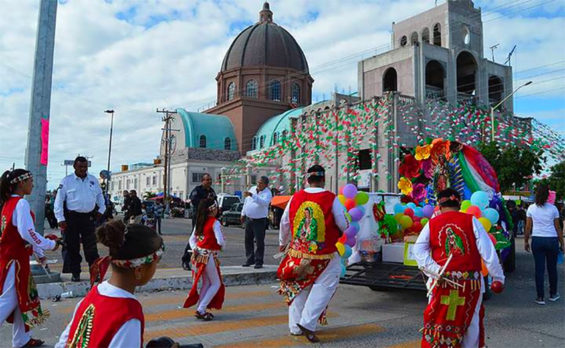 Residents are urged to celebrate the Virgin of Guadalupe in their homes this year.